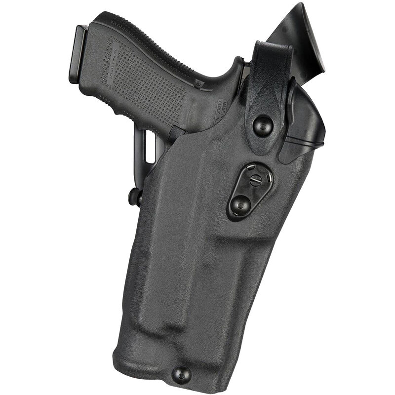 Safariland 6360RDS ALS/SLS Mid-Ride Duty Holster Fits S&W M&P 2.0 9/40 with Light and Red Dot LVL 3 Left Hand STX Tactical Black