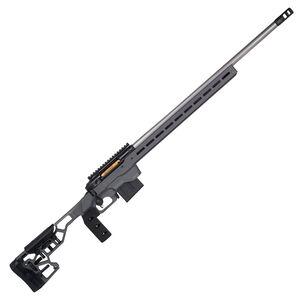"Savage Firearms 110 Elite Precision .223 Remington Bolt Action Rifle 26"" Barrel 10 Rounds Magazine MDT ACC Chassis Cerakote Grey"