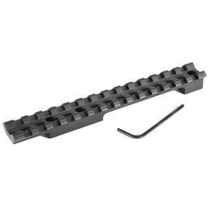 EGW One Piece Picatinny Style Scope Base Mount Remington 660/600 Mohawk 0 MOA Bias Built In Aluminum Matte Black