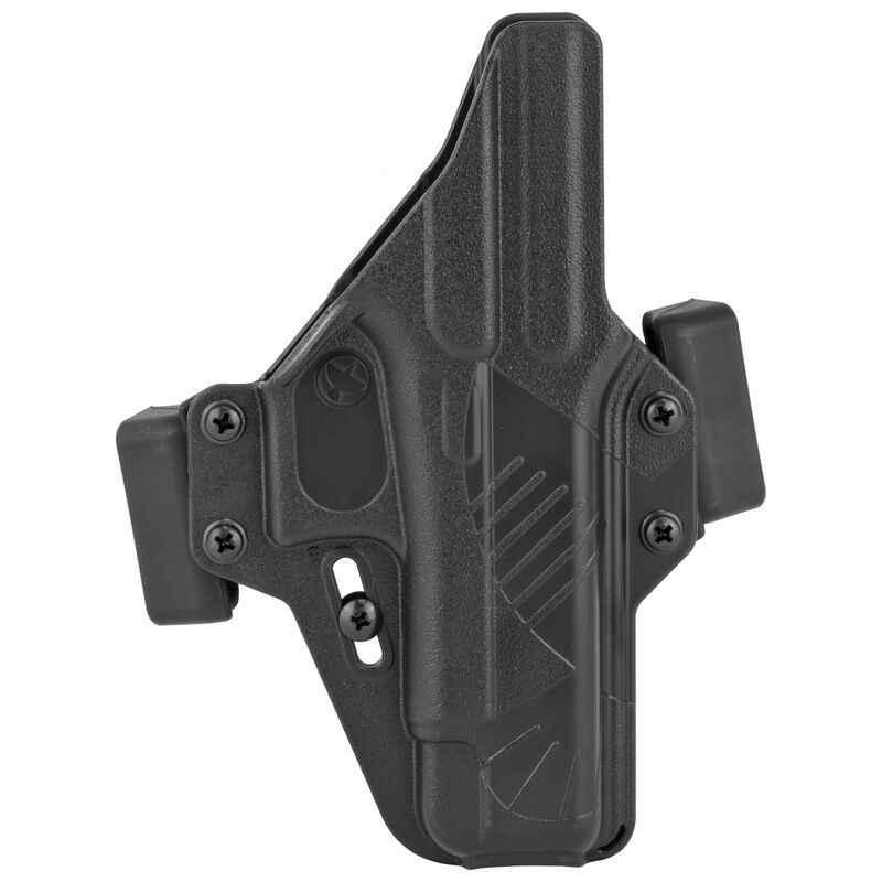 Raven Concealment Systems Perun OWB Holster For GLOCK 48 Ambidextrous Draw Matte Black Finish