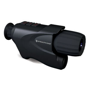 Stealth Cam Digital Night Vision Monocular with Integrated IR Filter for Day Use Black