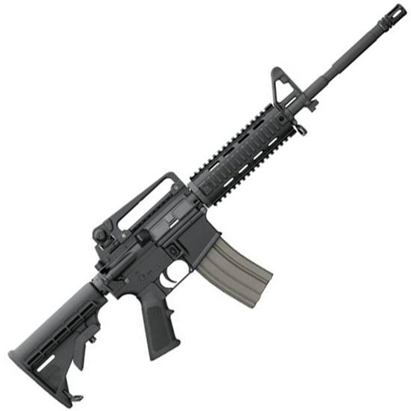 "Bushmaster XM-15 Patrolman's Carbine AR-15 Semi Auto Rifle 5.56 NATO 16"" Barrel 30 Rounds M4 Style Handguard Collapsible Stock Black"