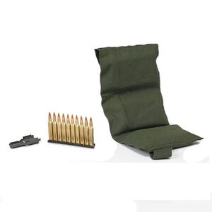 PMC Bronze .223/5.56 NATO Ammunition 55 Grain FMJ 140 Rounds, Ten Rounds per Stripper Clip in a Bandoleer