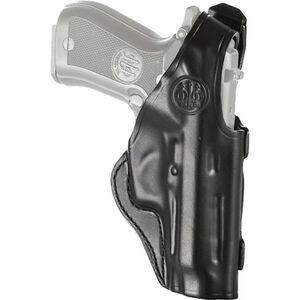 Beretta Mod. 06 Belt Holster Fits Beretta 80 Series Right Hand Leather Black
