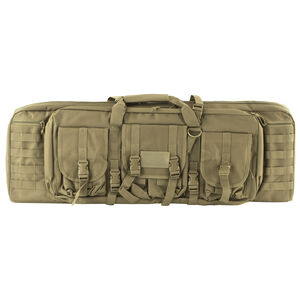 "NcSTAR Double Carbine Case 36"" Soft Case Padded Nylon Tan"