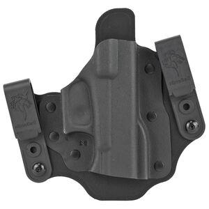 DeSantis Invader Tuckable IWB Holster Fits SIG Sauer P365 Right Hand Nylon/Kydex Black
