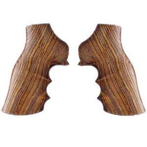 Hogue Fancy Ruger GP100, Super Redhawk Revolver Finger Groove Cocobolo Wood 80800