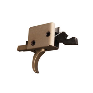 CMC AR-15 Drop-In Single Stage Trigger Curved Bow 3.5-4 lbs Pull Burnt Bronze 91501BB