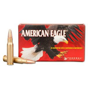 Federal American Eagle 6.8 SPC Ammunition 20 Rounds FMJ 115 Grains AE68A
