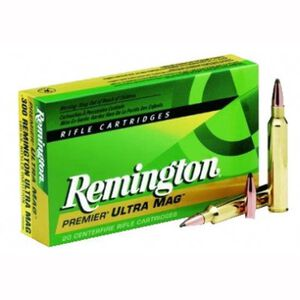 Remington .375 RUM 300 Grain Swift A-Frame SP 20 Rnd Box