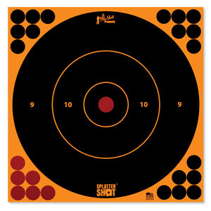 "Pro-Shot Splatter Shot 12"" Orange Bull's-eye Target"