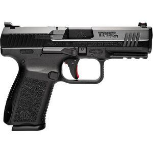 "Century Arms Canik TP9SF Elite 9mm Luger Semi Auto Pistol 15 Round 4.19"" Barrel Interchangeable Grips Black Polymer Frame Black Finish"