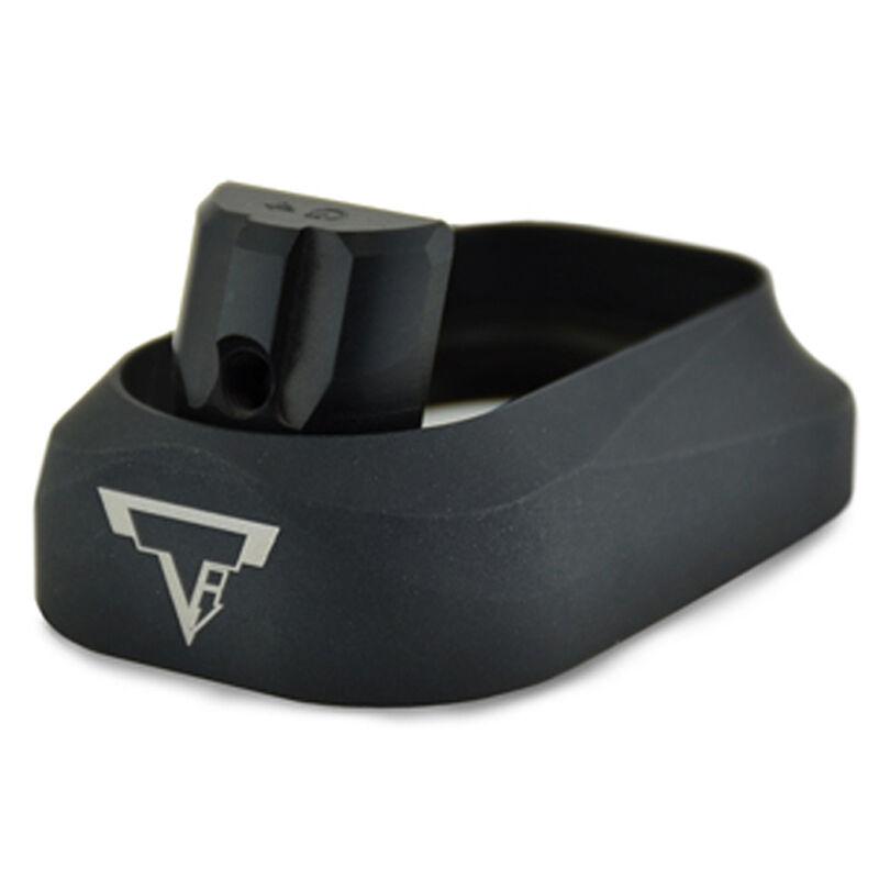 Taran Tactical Innovations Carry Magazine Well Enhancement GLOCK 17/22/34/35 Gen 4 Aluminum Flat Black Finish