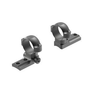 Leupold STD Remington 700 Direct Mount Rings 1 Inch Tube Diameter Medium Height Steel Matte Black Pair