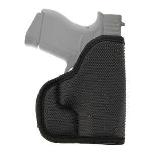 Galco STUKON-U Pocket Holster Fits GLOCK 42, 43, 43X and Similar Ambidextrous Kydex/Leather Black