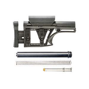 Luth-AR AR-15 MBA-1 Stock Assembly A2 Tube .223 Rifle Buffer And Spring Black MBA-1K