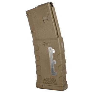 Mission First Tactical Extreme Duty AR-15 Windowed Magazine .223 Rem/5.56 NATO 30 Rounds Polymer Flat Dark Earth