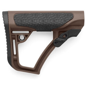 Daniel Defense Collapsible Buttstock AR-15 Mil-Spec Diameter Mil-Spec+ Brown 21-091-04179-011