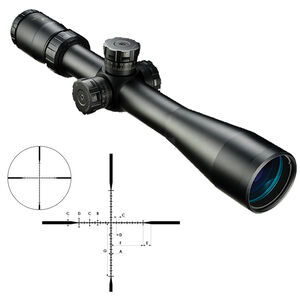Nikon M-TACTICAL 3-12x42SF Rifle Scope Non Illuminated MK1-MRAD Reticle 30mm Tube Side Parallax Adjustments Second Focal Plane Matte Black