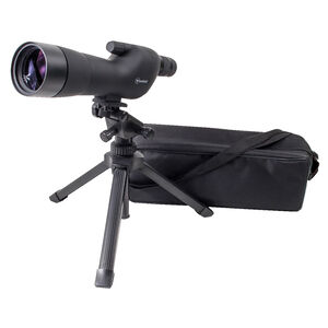 Firefield 20-60x60mmSE Spotting Scope Kit Fully Multi-Coated Optics Tripod/Carrying Case/Hard Case Black