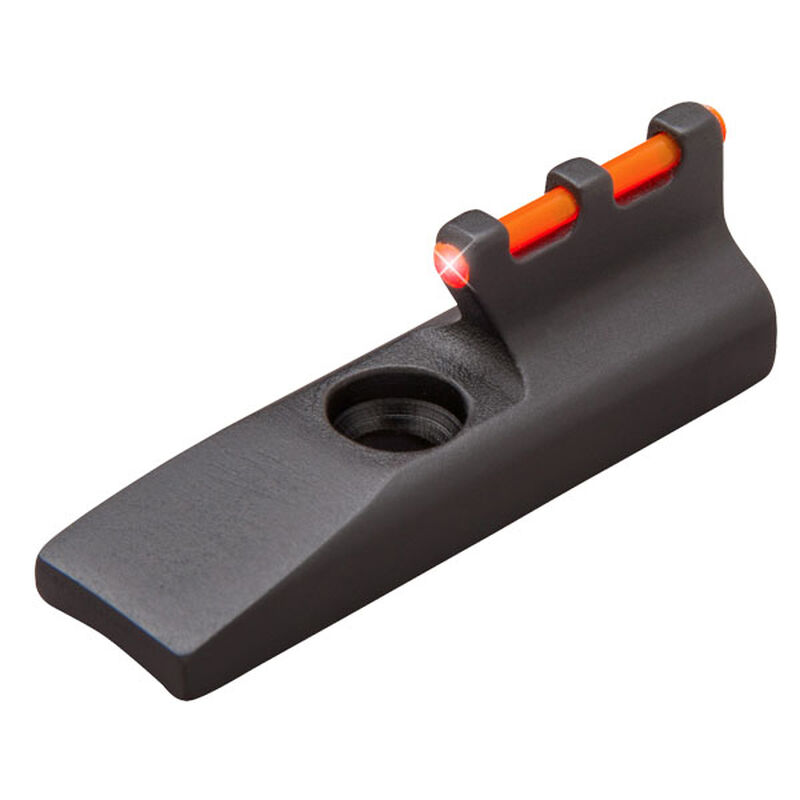 TRUGLO Rimfire Pistol Fiber Optic Front Sight Ruger/Browning Buckmark Rimfire Pistols Fiber Optic Front Sight Red Steel TG965R