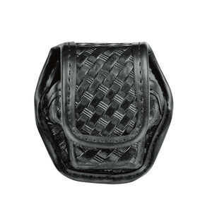 Bianchi AccuMold Elite EDW Single Pouch Fits Taser X26 Cartridge Trilaminate Basket Weave Black