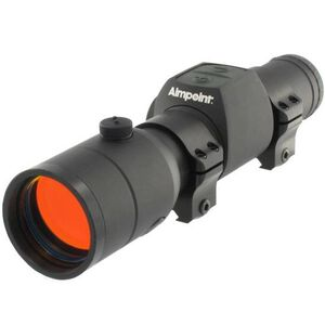Aimpoint H34S Hunter Series Red Dot Sight 34mm Tube 2 MOA Dot Matte Black with Rings12692