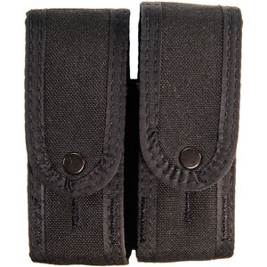 High Speed Gear Duty Double Pistol TACO Covered Belt/MOLLE Magazine Pouch Cordura Black