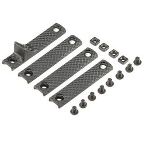 Knights Armament Company URX 3.1 AR-15 Rail Panel Kit Polymer Matte Black 30408-BLK