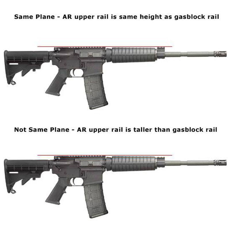 TRUGLO Fiber Optic AR-15 Front Sight Lower Gas Block Height Green/Black TG115