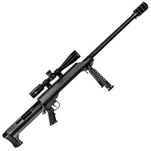 "Barrett Model 99 .416 Barrett Single Shot Bolt Action Rifle Package 32"" Heavy Barrel Vortex Scope Combo Muzzle Brake Optics Rail Bipod Hard Coat Anodized Matte Black"