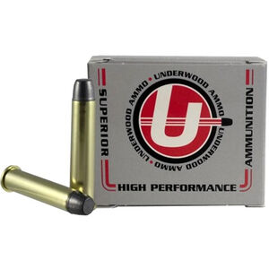 Underwood Ammo .45-70 Gov +P Ammunition 20 Round Box 430 Grain Hard Cast Lead Projectile 1925 fps