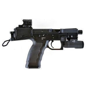 "B&T USW A1 Semi Auto Pistol 9mm Luger 4.8"" Barrel 17 Rounds Aimpoint Nano B&T 200 Lumen APL Tactical Pistol Light Ambidextrous Controls Grip Panel Inserts Matte Black"