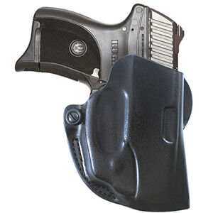Viridian DeSantis Mini Scabbard Holster for Ruger LC9/380 with Viridian Reactor Instant-On Green Laser Right Hand Black R5LC9DMS