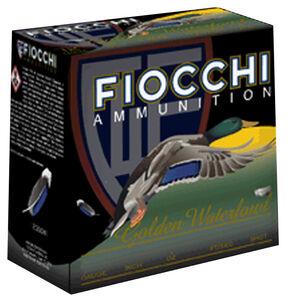 """Fiocchi Golden Waterfowl 12 Gauge Ammunition 25 Round Case 3"""" BBB Shot 1-1/4oz Steel 1350fps"""