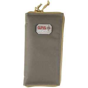 G-Outdoors Large Pistol Sleeve Lockable Nylon Rifle Green Khaki
