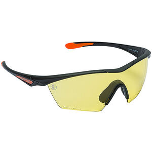Beretta Clash Shooting Glasses Black Frame Yellow Lenses