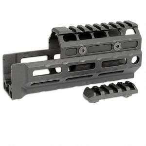 Midwest Industries Gen 2 AK-47/AK-74 Universal Hand Guard M-LOK Compatible Rail Top Cover 6061 Aluminum Matte Black