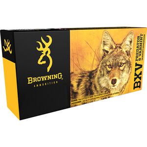 Browning BXV .22 Hornet Ammunition 20 Rounds BXV 35 Grains B192300221