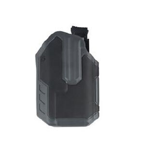 BLACKHAWK! Omnivore Semi Auto with Surefire X300/X300U-A Multifit Belt Holster Level 2 Retention Right Hand Polymer Urban Gray and Black Clamshell