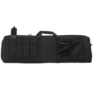 "US PeaceKeeper Tactical Combo Case 43"" Black Nylon"
