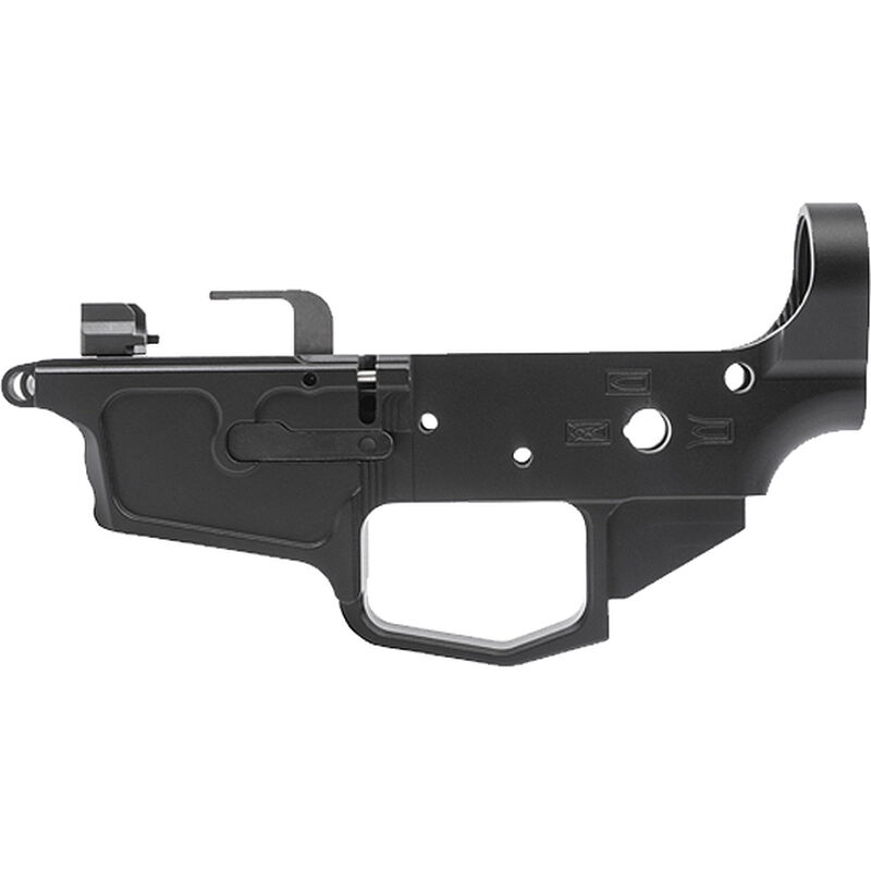 New Frontier C-5 Stripped Lower Receiver 9mm Luger Uses HK MP5 Style Magazines Billet Aluminum Black