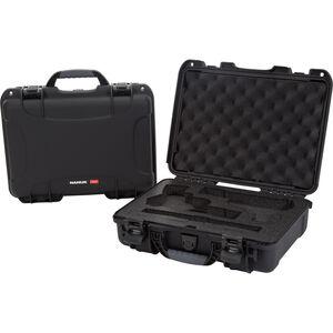 Nanuk 910 Classic 2 Up Pistol Case Waterproof Dustproof High Impact Polymer Black 910-CLASG1