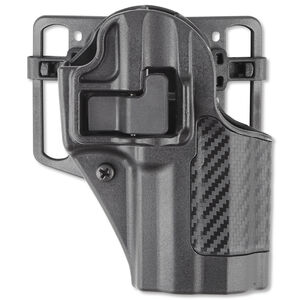 BLACKHAWK! CQC SERPA Belt/Paddle Holster H&K P30 Right Hand Polymer Carbon Fiber 410017BK-R