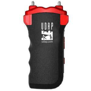 UDAP Industries Magnum Personal Defense Stun Gun with Holster, Flashlight, Alarm with Flashing Red Lighs