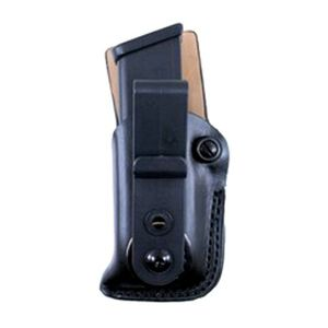 """DeSantis """"The Fly High"""" Tuckable IWB Single Magazine Pouch For GLOCK/Para Ordinance/H&K Right Hand Leather Black A78PCJJZ0"""