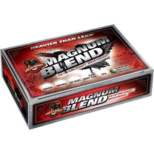 "Hevi-Shot Magnum Blend 12 Gauge Ammunition 5 Rounds 3"" Shell #5 #6 and #7 HEVI-13 Non-Toxic Lead Free Shot 1-1/2oz 1150fps Turkey Load"