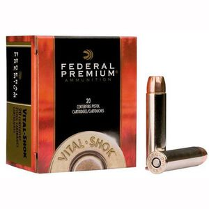 Federal Ammunition .460 S&W 300 Grain Swift A-Frame 20 Round Box