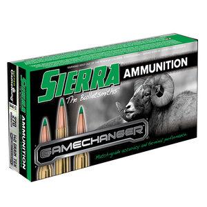 Sierra GameChanger .270 Winchester Ammunition 20 Rounds 140 Grain Tipped GameKing
