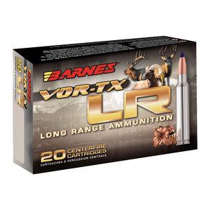 Barnes 7mm Remington Magnum Ammunition 20 Rounds Lead Free LRX 139 Grains